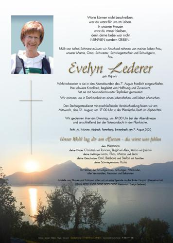Parte von Evelyn Lederer