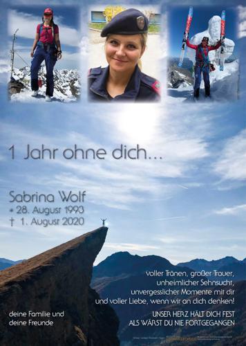 Parte von Sabrina Wolf