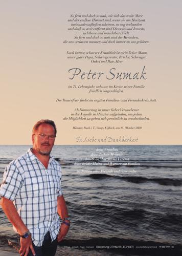 Parte von Peter Sumak
