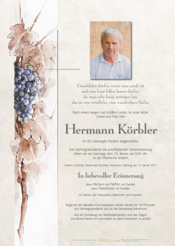 Parte von Hermann Körbler