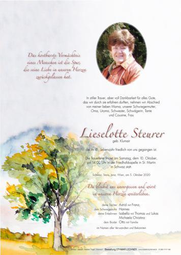 Parte von Liselotte Steurer