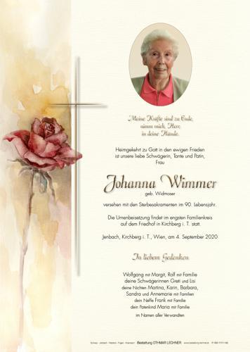 Parte von Johanna Wimmer