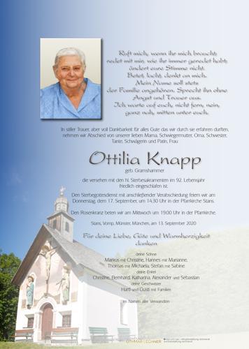 Parte von Ottilia Knapp