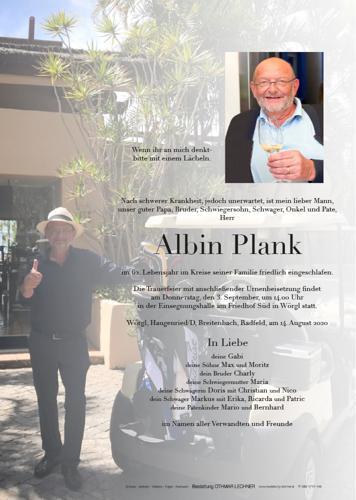 Parte von Albin Plank