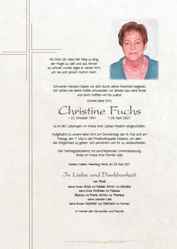 Parte von Christine Fuchs