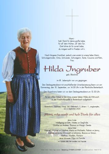 Parte von Hilda Ingruber