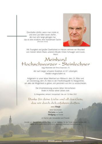 Parte von Meinhard Hochschwarzer-Steinlechner