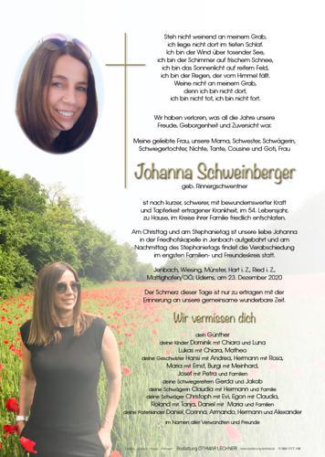 Parte von Johanna Schweinberger