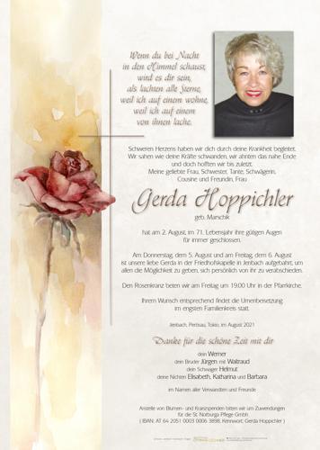 Parte von Gerda Hoppichler