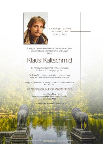 Parte von Klaus Kaltschmid