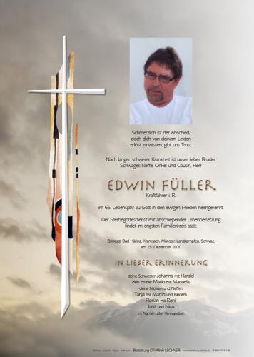 Parte von Edwin Füller