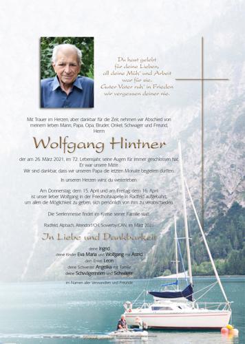Parte von Wolfgang Hintner