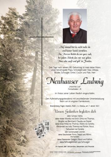 Parte von Ludwig Neuhauser