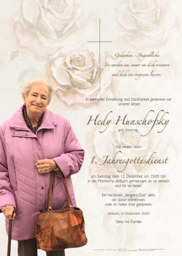 Parte von Hedy Hunschofsky