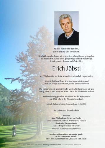 Parte von Erich Jöbstl