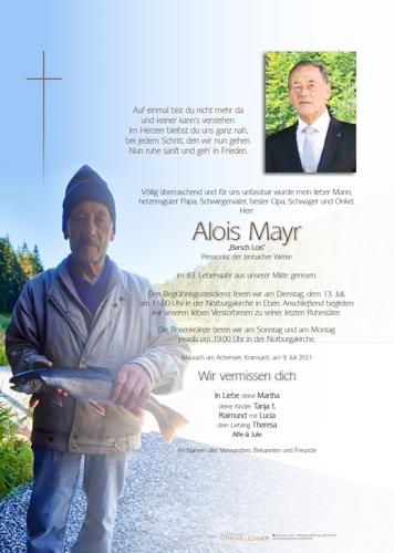 Parte von Alois Mayr