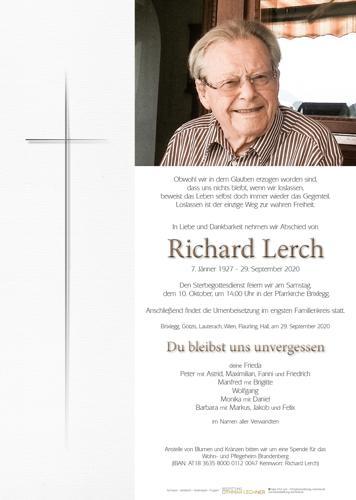 Parte von Richard Lerch