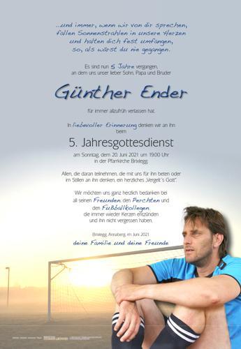 Parte von Günther Ender