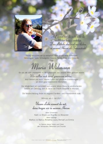 Parte von Maria Widmann