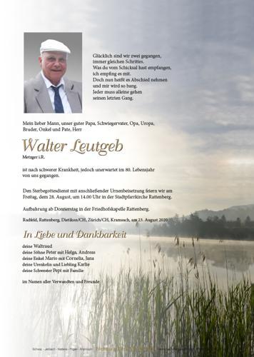 Parte von Walter Leutgeb
