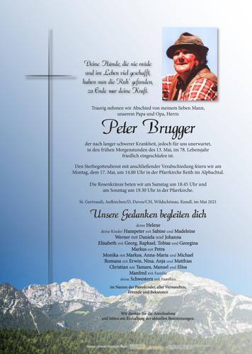 Parte von Peter Brugger