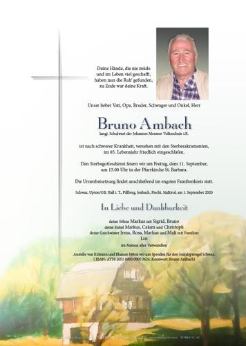 Parte von Bruno Ambach
