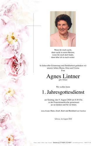 Parte von Agnes Lintner