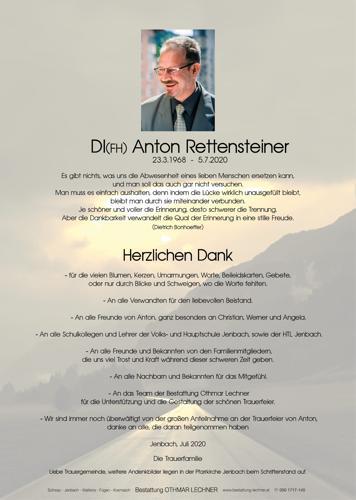 Parte von Anton Rettensteiner
