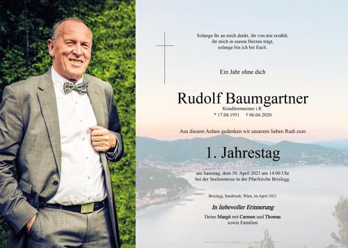Parte von Rudolf Baumgartner