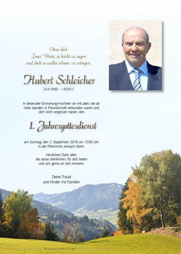 Parte von Hubert Schleicher