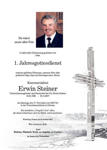 Parte von Steiner Erwin KR