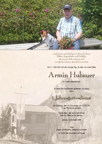 Parte von Armin Hubauer
