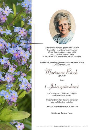 Parte von Marianne Rösch