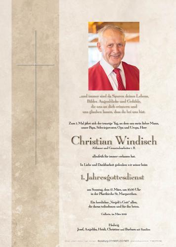 Parte von Christian Windisch