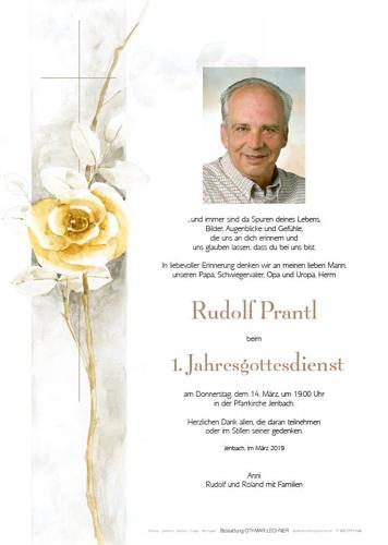 Parte von Rudolf Prantl