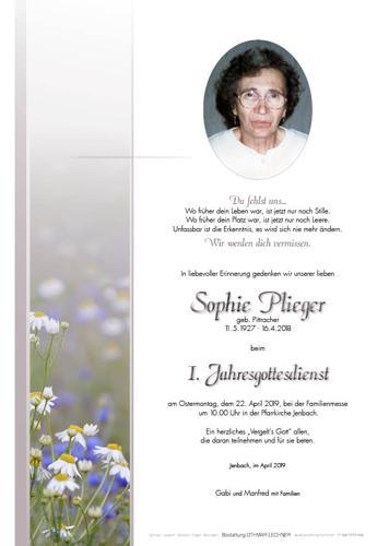 Parte von Sophie Plieger
