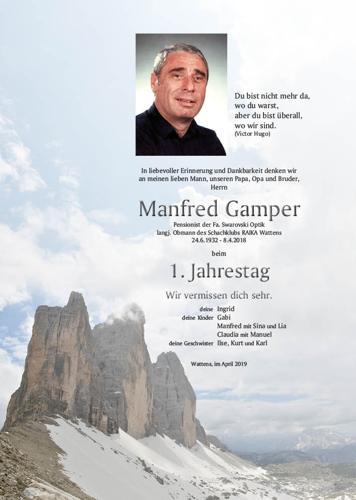 Parte von Manfred Gamper