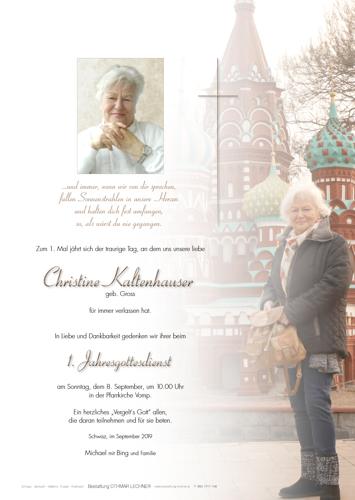 Parte von Christine Kaltenhauser