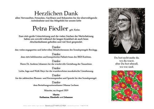 Parte von Petra Fiedler