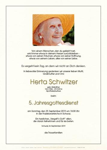 Parte von Herta Schwitzer