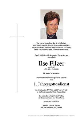 Parte von Ilse Filzer