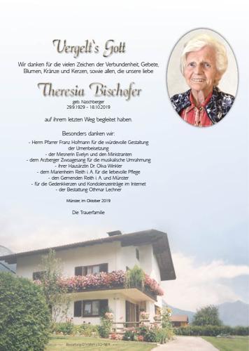 Parte von Theresia Bischofer