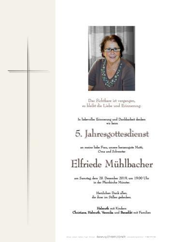 Parte von Elfriede Mühlbacher
