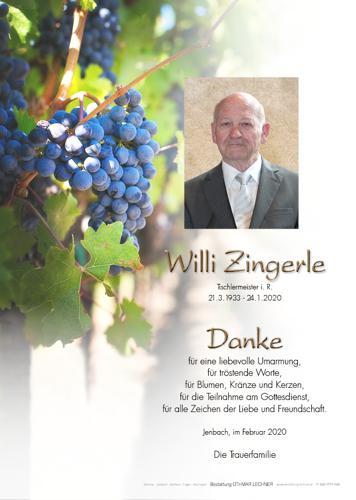 Parte von Willi Zingerle