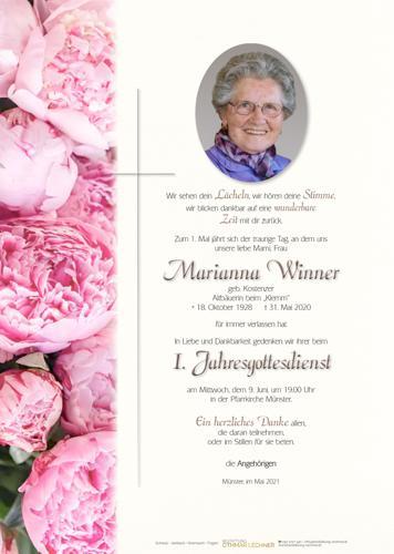 Parte von Marianne Winner
