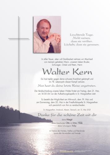 Parte von Walter Kern