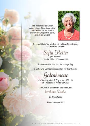 Parte von Sofia Reiter