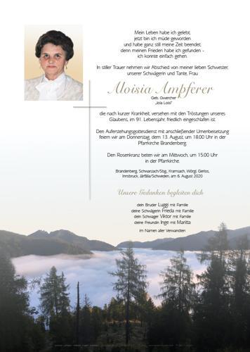 Parte von Aloisia Ampferer
