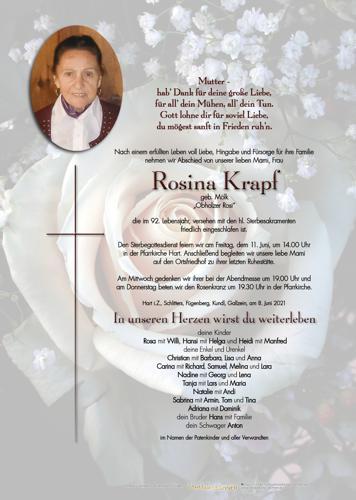 Parte von Rosina Krapf