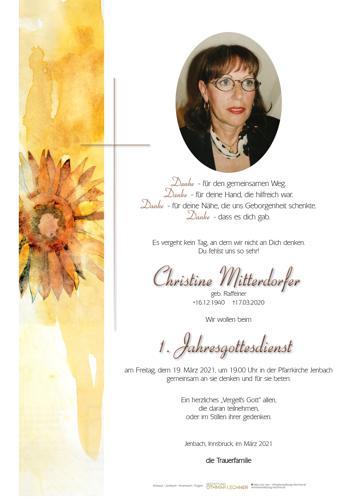 Parte von Christine Mitterdorfer